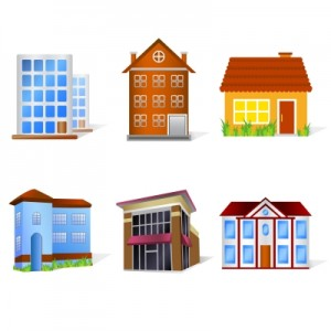 Home Icons Stock Image By digitalart
